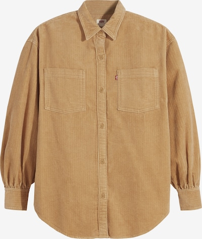 LEVI'S Blouse in Light brown / Red / White, Item view