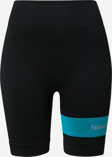 NU-IN Pantalon en bleu clair / noir, Vue avec produit