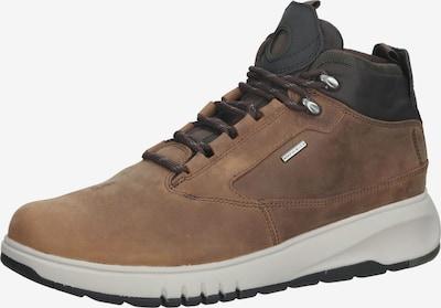 GEOX Sneaker in braun / dunkelbraun, Produktansicht