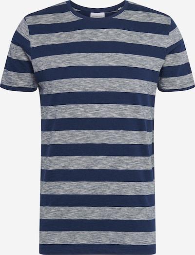 Lindbergh Tričko 'Y/D striped tee S/S' - námořnická modř, Produkt