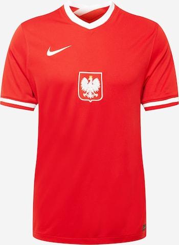 NIKE Dres 'Polen' - Červená