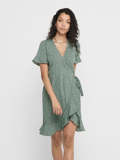 ONLY Vestido 'ONLOLIVIA' en verde / negro, Vista del modelo