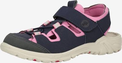 RICOSTA Avonaiset kengät 'Gerald' värissä sininen / tummanharmaa / vaaleanpunainen, Tuotenäkymä