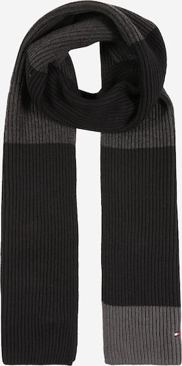 TOMMY HILFIGER Sjaal in de kleur Grijs / Zwart, Productweergave