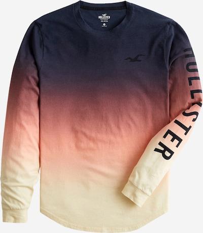 HOLLISTER Camiseta en beige / navy / naranja claro, Vista del producto