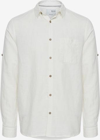 !Solid Freizeithemd in Weiß