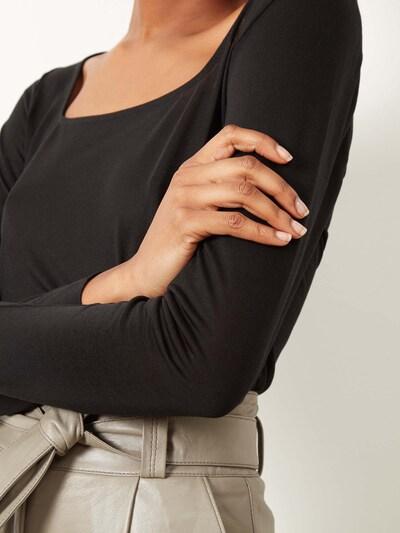 Aligne Shirt 'Caspian' in schwarz, Produktansicht