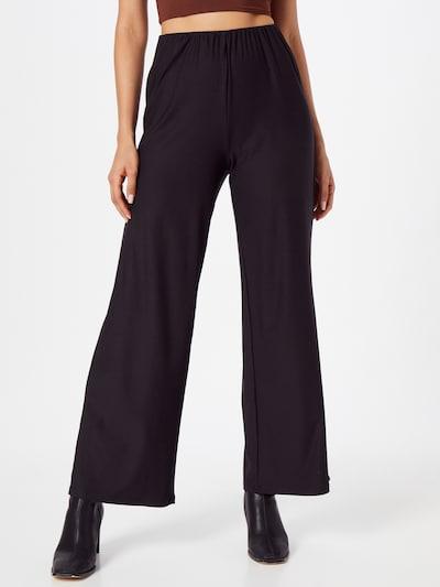 VERO MODA Spodnie 'ODETTA' w kolorze czarnym, Podgląd na modelu(-ce)