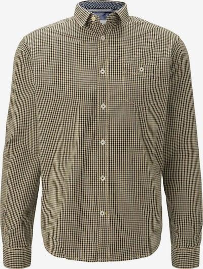 TOM TAILOR Overhemd in de kleur Geel / Zwart, Productweergave