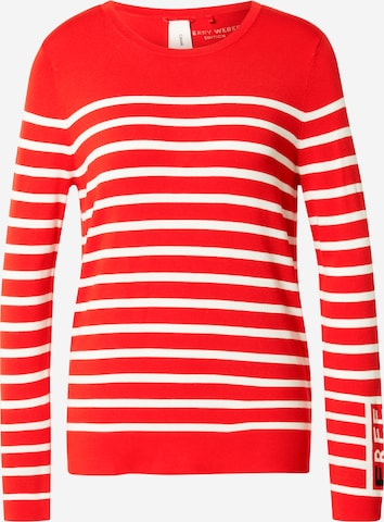 GERRY WEBER Pullover in Rot