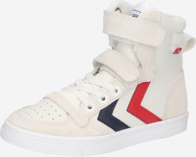 Hummel Sneakers in de kleur Navy / Grijs / Rood / Wit, Productweergave