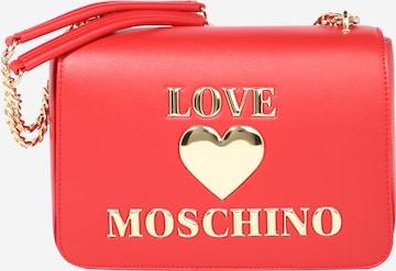 Love Moschino Skulderveske i rød