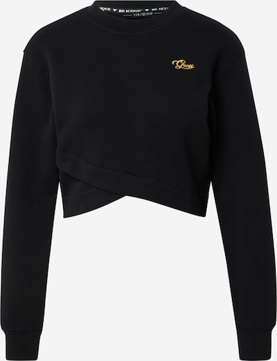 GUESS Sweat-shirt 'ESTELLE' en jaune d'or / noir, Vue avec produit