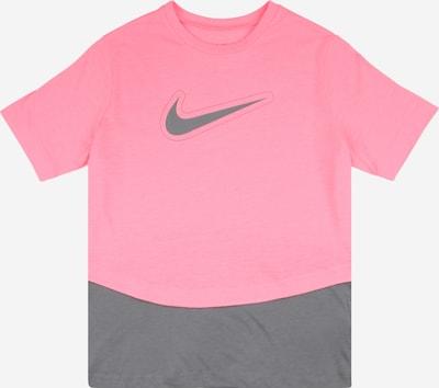 NIKE Sporta krekls 'Trophy' tumši pelēks / gaiši rozā, Preces skats