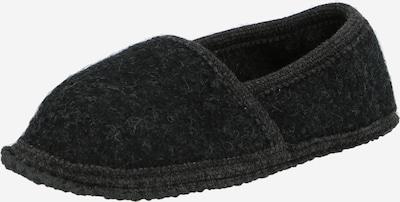 BECK Домашни пантофи 'Toni' в антрацитно черно, Преглед на продукта