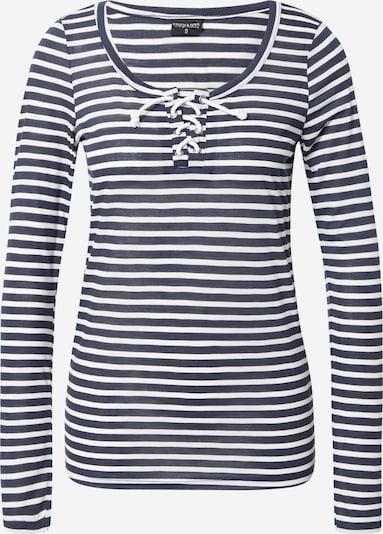 Stitch and Soul Shirt in dunkelblau / weiß, Produktansicht