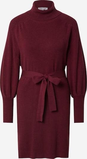 EDITED Kleid 'Malene' in burgunder, Produktansicht