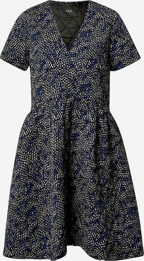 Y.A.S Jurk in de kleur Beige / Blauw / Zwart, Productweergave