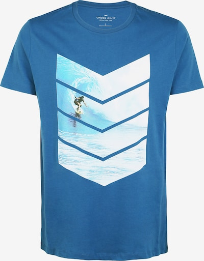 Cross Jeans T-Shirt in mischfarben: Frontalansicht