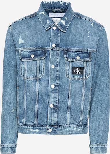 Calvin Klein Jeans Přechodná bunda - modrá džínovina, Produkt