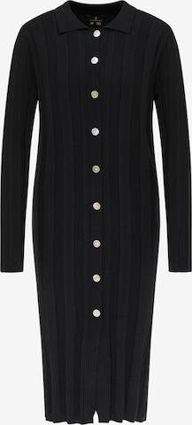 Robes en maille DreiMaster Klassik en noir