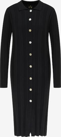 DreiMaster Klassik Gebreide jurk in de kleur Zwart, Productweergave