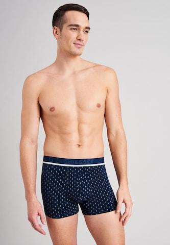 SCHIESSER Boxer shorts ' 95/5 ' in Blue