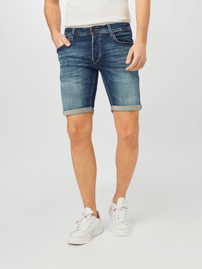 JACK & JONES Jeans i blå denim, På modell