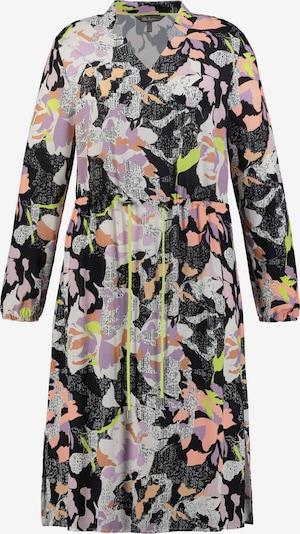 Ulla Popken Kleid in helllila / koralle / schwarz / weiß, Produktansicht
