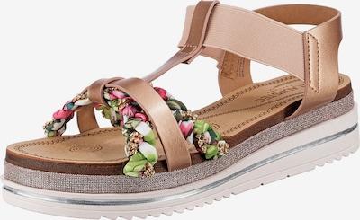 Laufsteg München Sandalette in rosa, Produktansicht