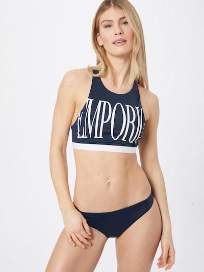 Emporio Armani Bikini | mornarska / bela barva, Prikaz modela