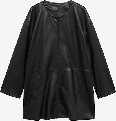VIOLETA by Mango Prechodný kabát 'Sobre' - čierna, Produkt