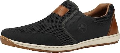 RIEKER Sneaker in beige / schwarz, Produktansicht