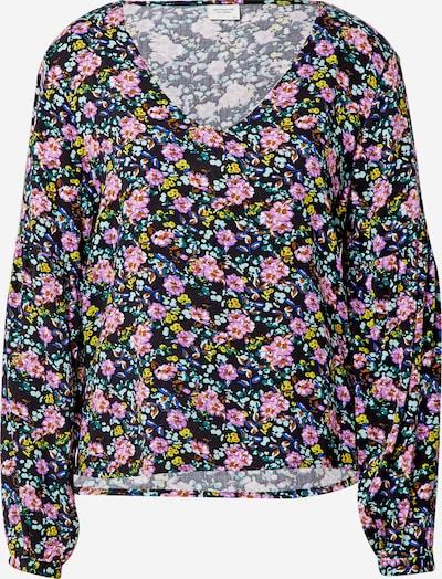 JACQUELINE de YONG Shirt 'KATE' in blau / pink / schwarz, Produktansicht