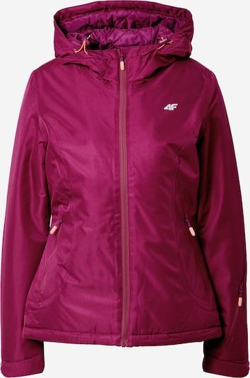 4F Sporta jaka tumši rozā, Preces skats