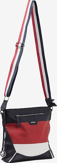 RIEKER Tasche in dunkelblau / rot / weiß, Produktansicht
