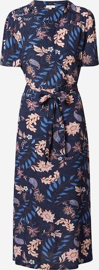 TOM TAILOR Robe-chemise en bleu foncé / mélange de couleurs, Vue avec produit