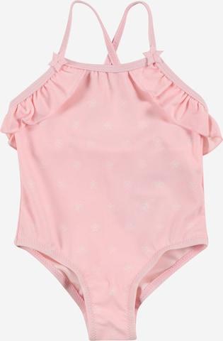 Costum de baie întreg de la OVS pe roz