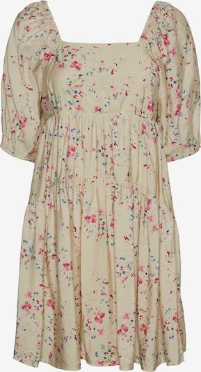 Vero Moda Curve Kleid 'Mila' in beige / blau / pink, Produktansicht