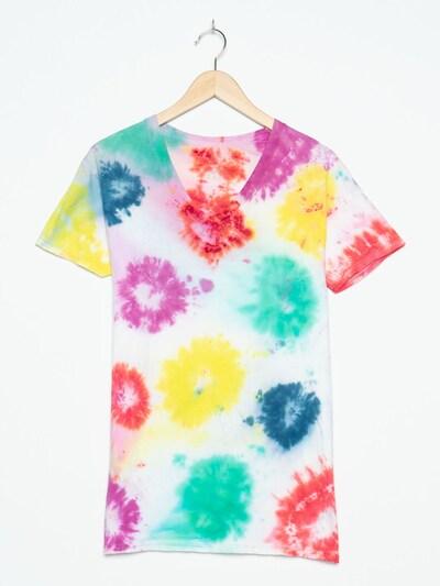 FRUIT OF THE LOOM Tie Dye Shirt in M in weiß, Produktansicht