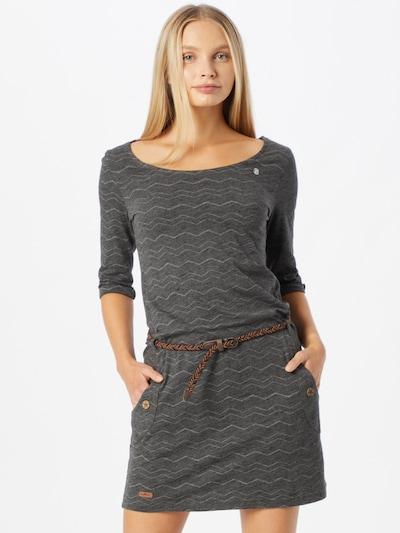 Ragwear Dress 'TANYA' in Dark grey / White, View model