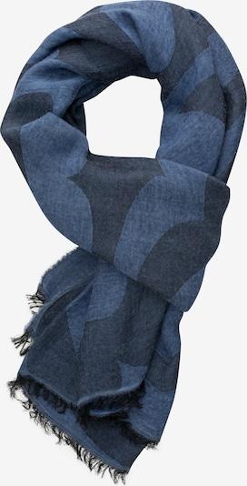 ETERNA Sjaal in de kleur Duifblauw / Donkerblauw, Productweergave