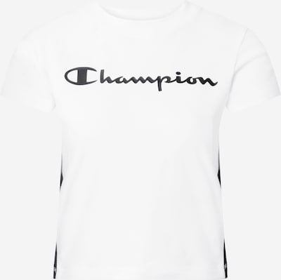 Champion Authentic Athletic Apparel T-shirt fonctionnel en noir / blanc, Vue avec produit