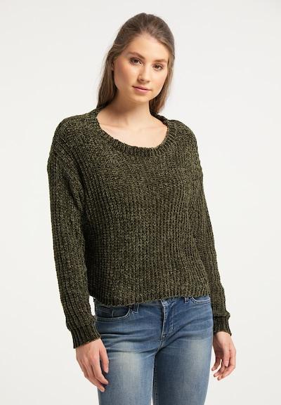 IZIA Pullover in oliv, Modelansicht