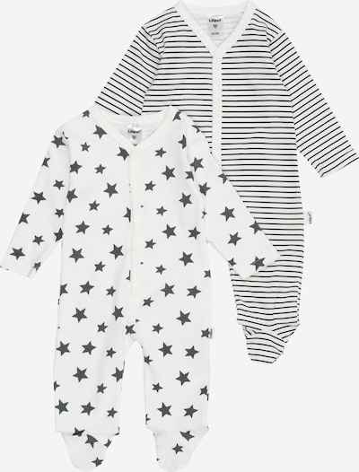 LILIPUT Бебешки гащеризони/боди в антрацитно черно / бяло, Преглед на продукта