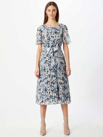 Esprit Collection Kleid in beige / navy / opal / weiß, Modelansicht
