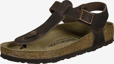 BIRKENSTOCK Sandale in dunkelbraun, Produktansicht