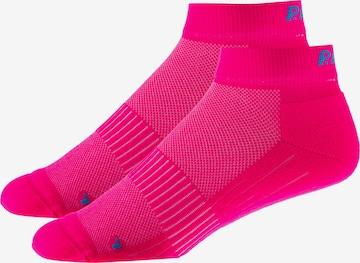 P.A.C. Sportsocken in Pink