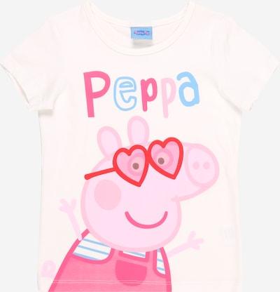 Peppa Pig Shirt in mischfarben / weiß, Produktansicht