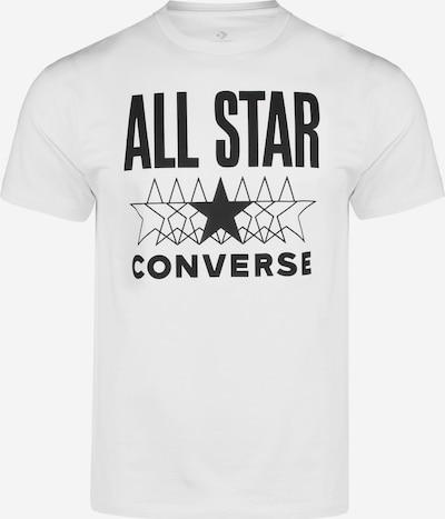CONVERSE T-Shirt 'All Star' in schwarz / weiß, Produktansicht